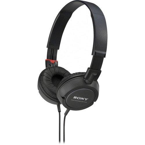 Sony Lightweight Extra Bass Stereo Headphones (Black)