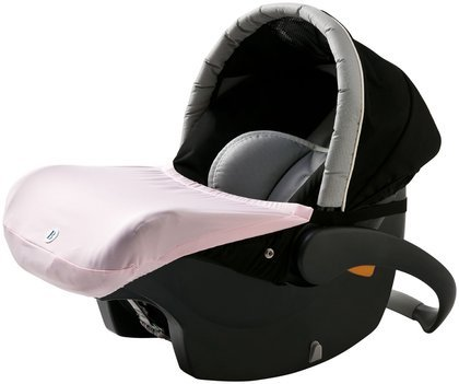 Imagine Baby The Shell Infant Car Seat Cover - Pink