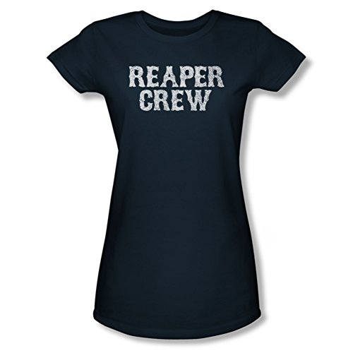 Sons Of Anarchy Reaper Crew Ladies Junior Fit T-Shirt SOA104JS
