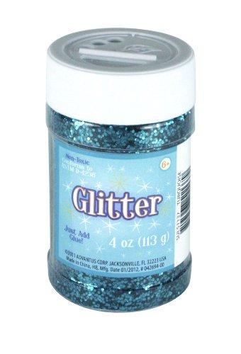sulyn-4-oz-glitter-jar-turquoise