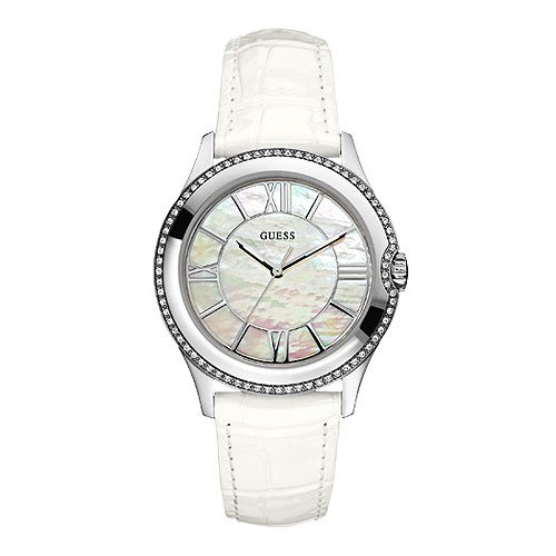 Guess W85116L1 Ladies MOONBEAM White Watch