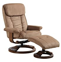 Big Sale MacMotion Chair #7151/639-08-103 Swivel Recliner with Ottoman