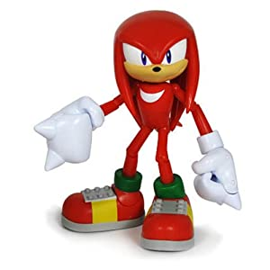 Sonic the Hedgehog 3.5 Inch Action Figure Knuckles the Echidna