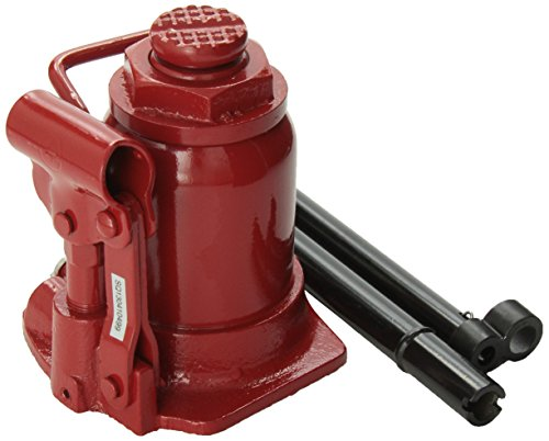 Short Hydraulic Jacks : Atd tools short hydraulic bottle jack ton