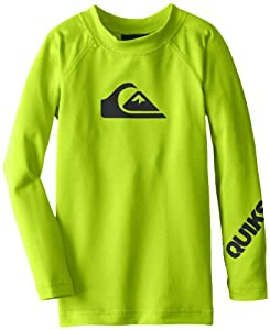 Quiksilver Boys 2-7 All Time Long Sleeve Toddler Surf Shirt from Quiksilver