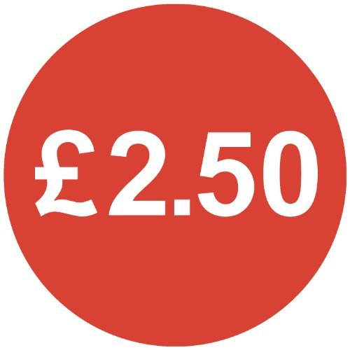 Audioprint Lot Rouge Taille S 13mm £ 2,50Prix-50000autocollants
