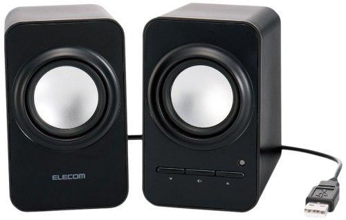 ELECOM compact speaker USB 2.1W Black MS-P05UBK