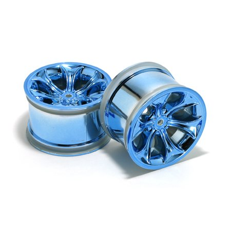 RPM Standard Offset Titan Wheels, Blue - 1