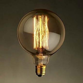 ampoule d co filament filament long grosse sph rique filament r tro vintage. Black Bedroom Furniture Sets. Home Design Ideas