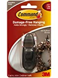 Command Forever Classic Medium Metal Hook, Oil Rubbed Bronze
