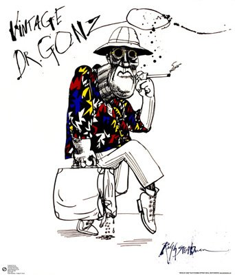 Ralph Steadman Art Poster Print   24 X 27