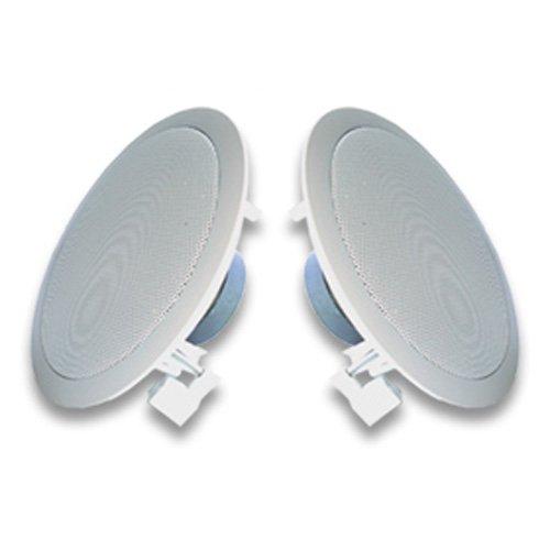 Acoustic Audio R191-2Pkg (2) 200 Watt In-Wall/Ceiling Home Speakers