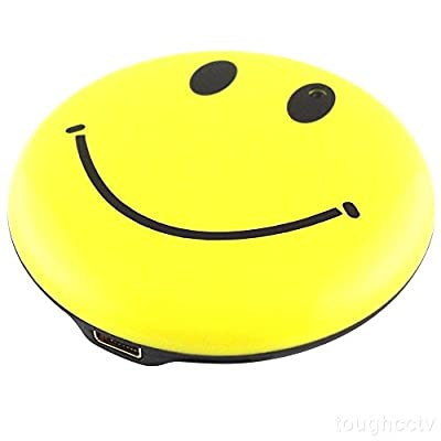 KingGatWay 8GB Mini Hidden Camera Video Recorder Camcorder Security DVR Wearable Smiley Face Badge by KingGatWay
