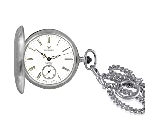 Catorex Men's 171.1.1634.110 Argent massif 925 Automatic Sub-Seconds Pocket Watch