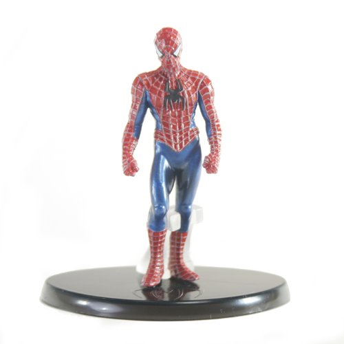 Picture of Bandai Chozoukei Damashii Spiderman 3 Trading Figure - Spiderman (Standing) (B0052ZG6D8) (Spider-Man Action Figures)