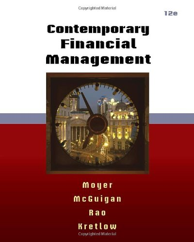 Contemporary Financial Management ( Thomson ONE