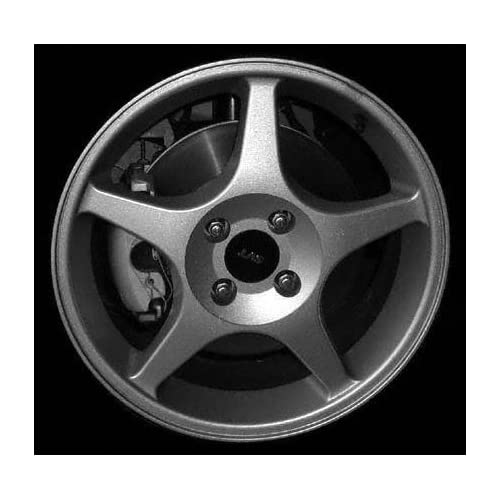 02 03 FORD FOCUS ALLOY WHEEL RIM 17 INCH, Diameter 17, Width 7 (5 SPOKE), BRIGHT SILVER, 1 Piece Only, Remanufactured (2002 02 2003 03) ALY03481U20