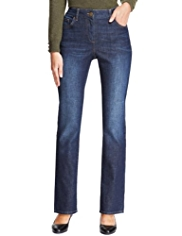 M&S Collection Straight Leg Washed Denim Jeans