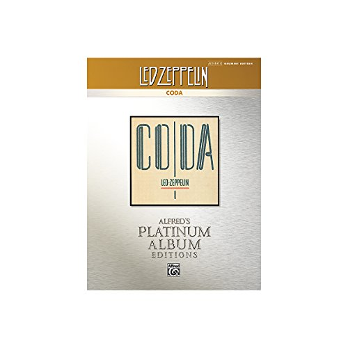 Alfred Led Zeppelin - Coda Drums Platinum Edition Book front-168837