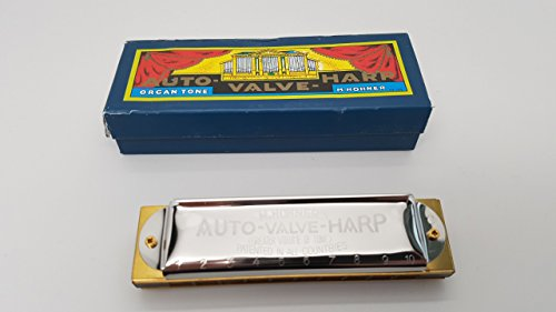 Hohner collector Auto Valve C damaged box (Harmonica Valves compare prices)