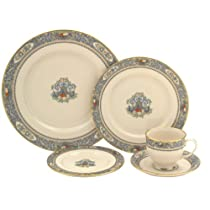 Lenox Autumn Gold-Banded Fine China 5-Piece Place Setting Service for 1