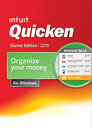 Quicken Starter Edition 2015