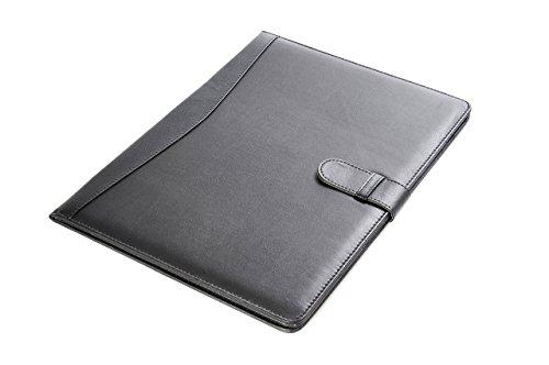 Pindi Manager portadocumenti padfolio di similpelle nero con blocco per appunti DCH 04 01 DE PDF