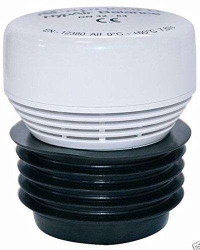 Capricorn - Valvola di aerazione per impianti sanitari/di scarico, mod. Hyp Air Balance, 30-63 mm