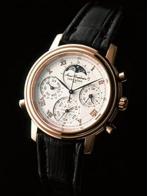 [テンショウドウ]Tenshodo 腕時計 グランドコンプリケーション・ピンクゴールド TWGCCPG01 メンズ