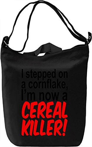 i-stepped-on-a-cornflake-im-now-a-cereal-killer-slogan-borsa-giornaliera-canvas-canvas-day-bag-100-p