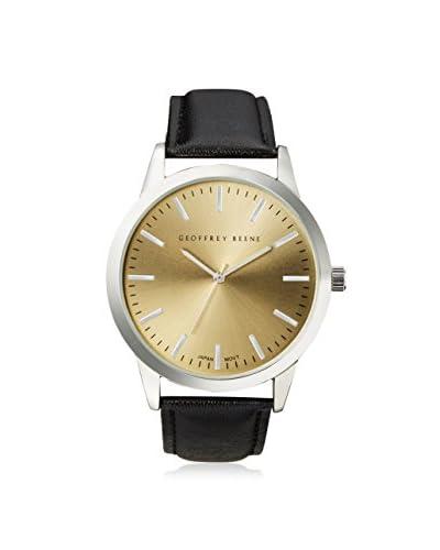 Geoffrey Beene Men's GB8008YL Black/Yellow Stainless Steel Watch