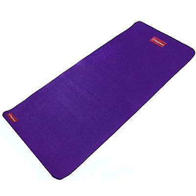 Yoga Matte in Studioqualität inkl. Tragegurt lila 182x80x1,5cm Pilates Fitness Aerobic Gymnastik