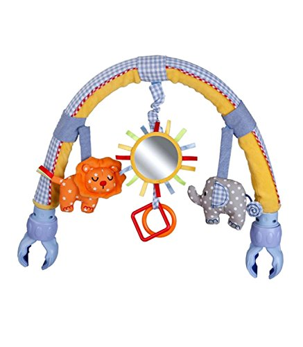 Singring-Baby-Pram-Crib-Activity-Arch-Plush-Sunny-Toy-Stroller-and-Travel-Activity-Bar-with-Rattle-and-BB-Device