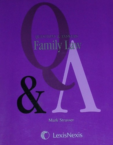 FAMILY LAW MULTIPLE CHOICE QUESTIONS