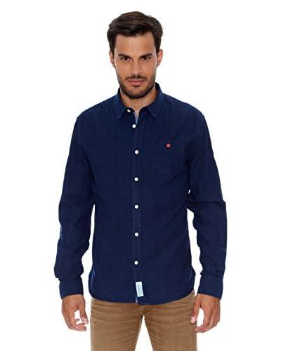Pepe Jeans London Camisa Hombre Hudson Azul Oscuro