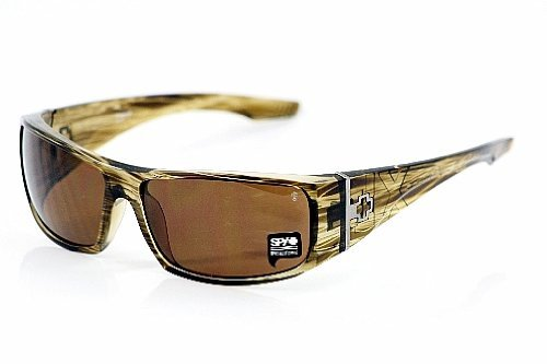 138f35071c SPY OPTIC Mens COOPER XL Sunglasses XL in Brown Stripe Tortoise With Bronze  POLARIZED Lenses Review