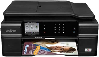 Brother MFCJ870 Wireless Color Inkjet All-In-One with Scanner, Copier and Fax Printer