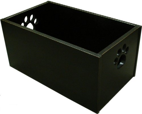 Pet Toy Box – Black – 12″H X 23.5″D X 13.5″D
