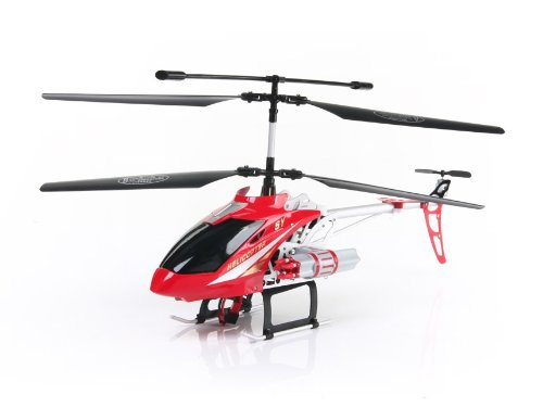 SONGYANG 8088-50 3.5 Channel Digital RC Helicopter with GYRO Light EU Plug (Red)