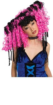 Curly Locks Wig Adult
