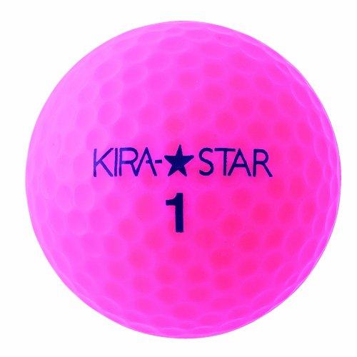 キャスコ(Kasco) KIRASTAR2 ピンク 1ダース