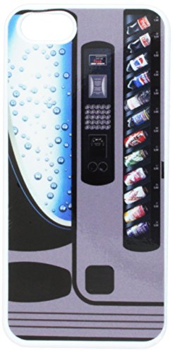 Graphics and More Soda Pop Vending Machine Snap-On Hard Protective Case for iPhone 5/5s - Non-Retail Packaging - White (Phone Charging Vending Machine compare prices)