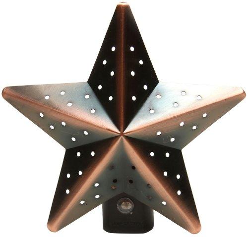 Good Choice 430 Star Design Automatic Led Fashion Night Light, Bronze