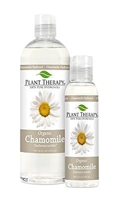 Organic Roman Chamomile Hydrosol (Flower Water, Floral Water, Hydrolats, Distillates) Bi-Product of Essential Oils
