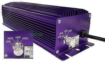 Lumatek 600w Watt Digital Dimmable Ballast For Grow Light Hydroponics