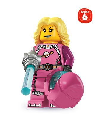 Lego Minifigures Series 6 - Skater Girl - 1