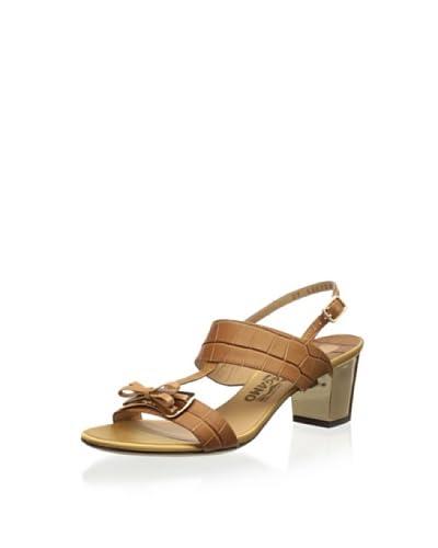 Salvatore Ferragamo Women's Blues Heel Sandal