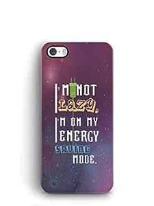 YuBingo Energy Saving Mode Mobile Case Back Cover for Apple iPhone SE