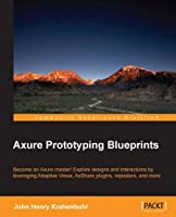Axure Prototyping Blueprints Front Cover