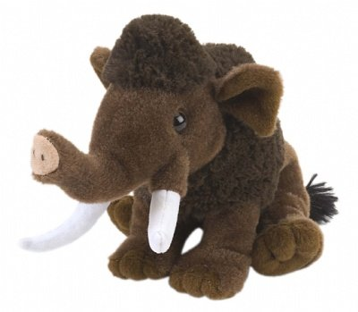 "Wild Republic CK-Mini Woolly Mammoth 8"" Animal Plush"